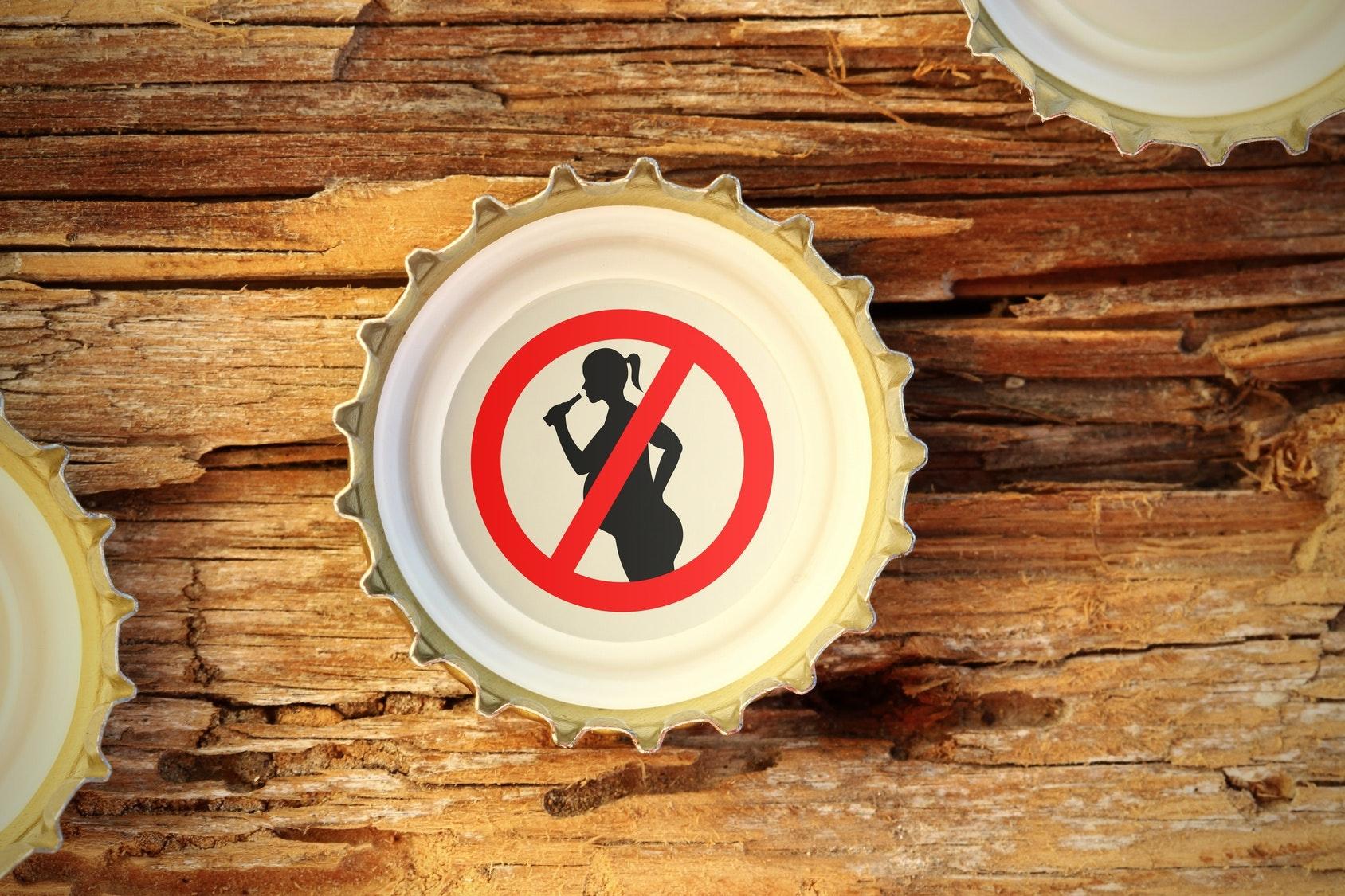 Zéro alcool pendant la grossesse