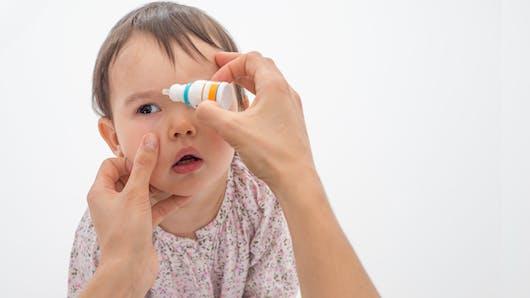 La conjonctivite chez les enfants