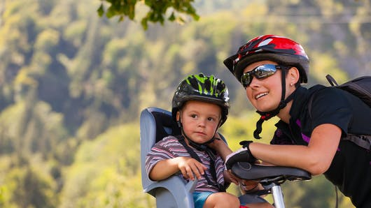 Promenades à vélo avec son bébé