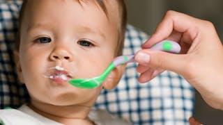 produit laitier bébé