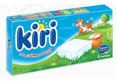 Kiri à la crème de lait