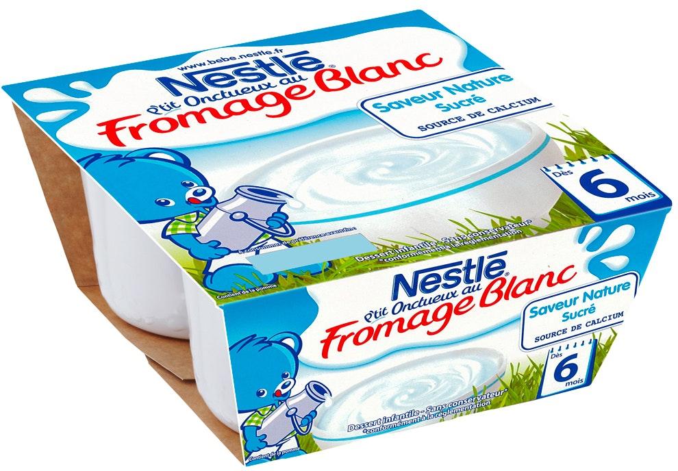 P'tit Onctueux au fromage blanc de Nestlé