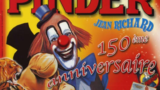 Traditionnel : le cirque Pinder