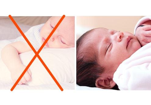 Bannissez les oreillers