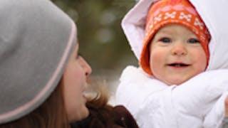 Bébé à la neige