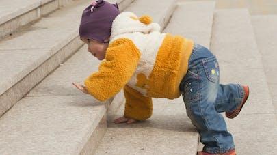 L'apprentissage des escaliers