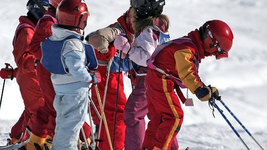 Mon enfant progresse en ski