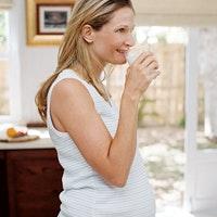 Une eau de femme enceinte