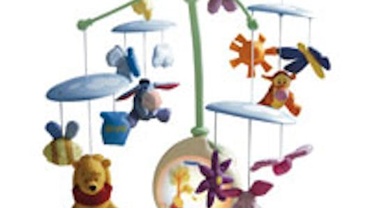 Mobile d'eveil musical Winnie l'ourson de Tomy