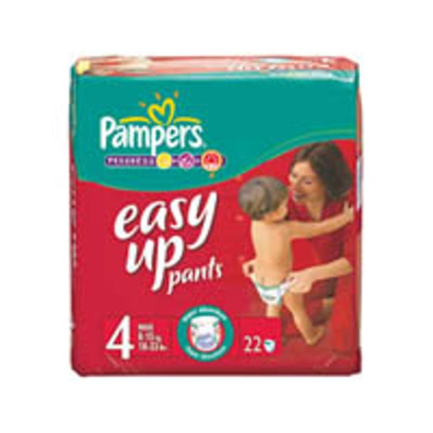 Couche culotte easy pants de pampers - Couches culottes pampers ...