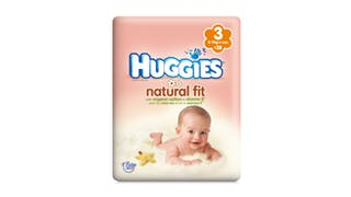 Couche natural fit, huggies