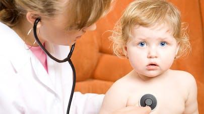 Bébé a une angine