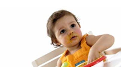 Menus spécial bébé