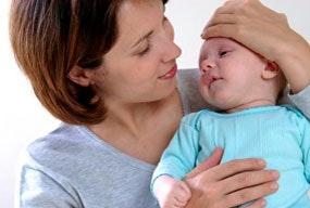 La grippe A chez Bébé