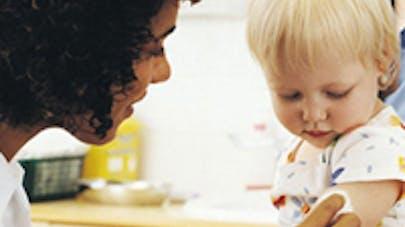 Bébé a son vaccin anti gastro