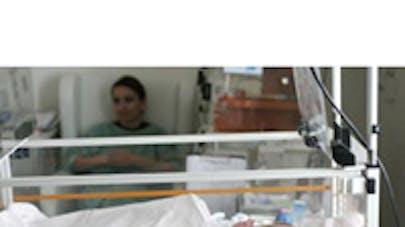 Bébé sauvé par un gaz rare