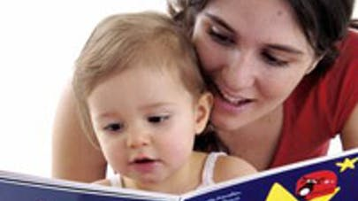 Bébé, apprenti lecteur