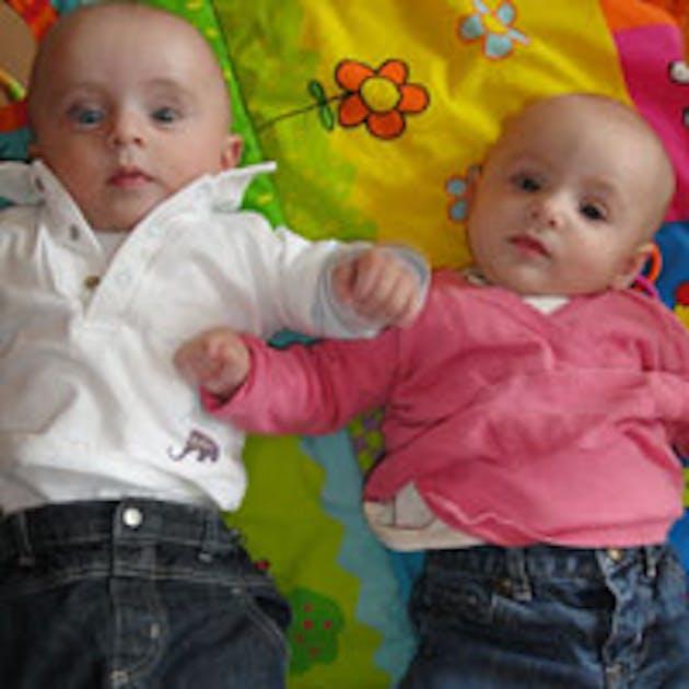 Bebe Jumeau Fille Garcon : Bilan des mois parents