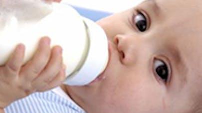 Un nouveau lait, bon pour Bébé