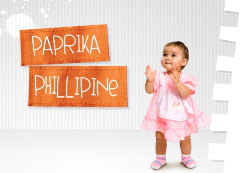 Paprika et Phillipine