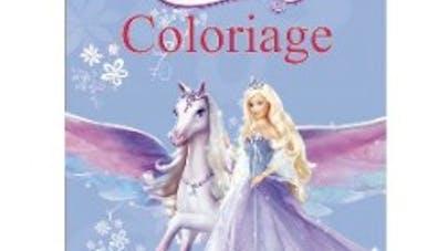 Barbie coloriage le cheval magique - Dessin anime de barbie et le cheval magique ...
