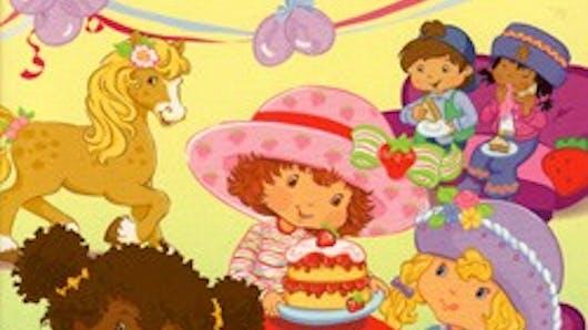Charlotte aux fraises invite ses amis