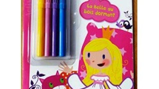 Contes à colorier la Belle au Bois dormant
