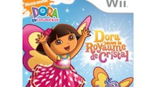 Dora sauve le royaume de Cristal sur Wii