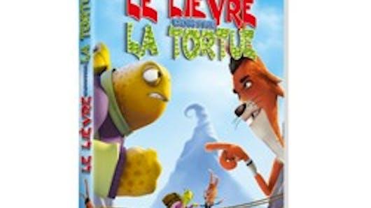 Le lièvre contre la tortue en DVD