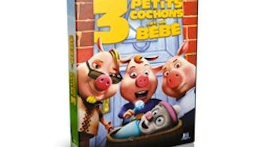 Trois petits cochons et un bébé en DVD
