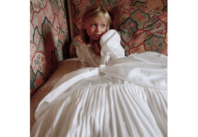 Robe de princesse mariée