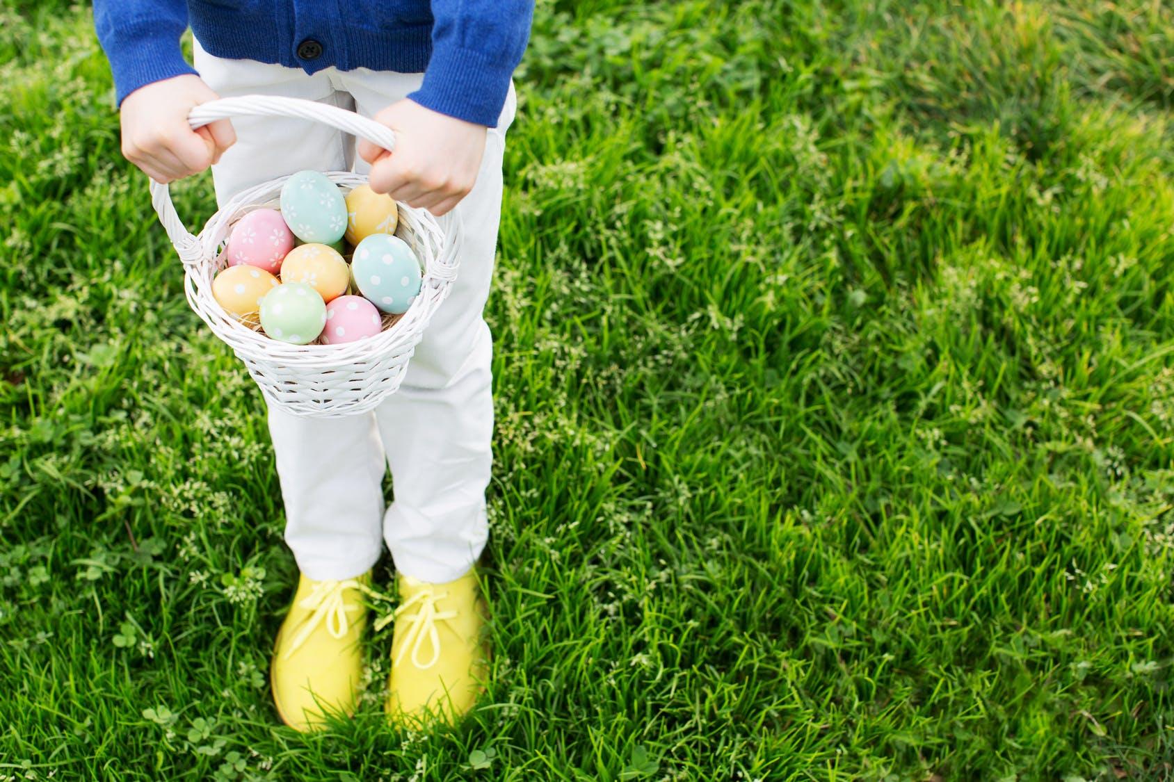 Les chasses aux oeufs de Pâques