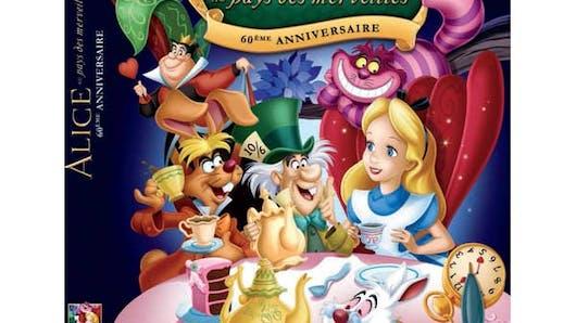 Alice aux pays des merveilles en DVD