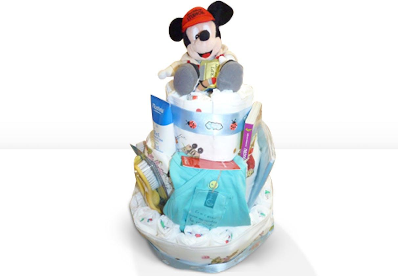 Gâteau de couches Mickey