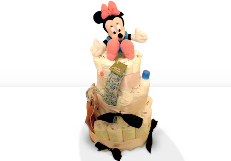 Gâteau de couches Minnie