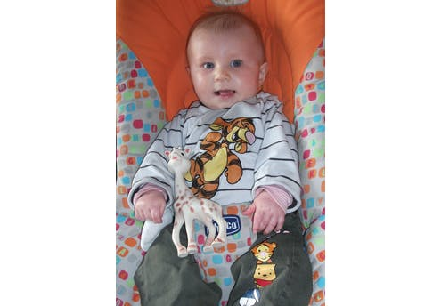 Aloïs, 7 mois