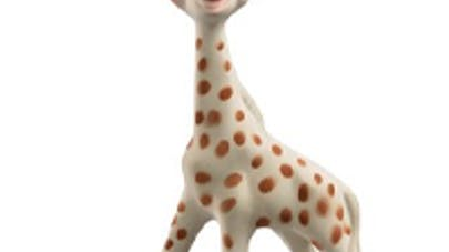 Sophie, girafe au grand coeur