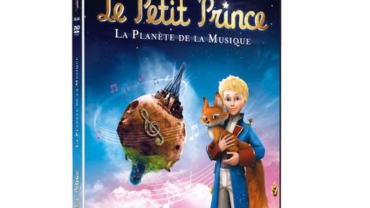 Le petit prince, la planète de la musique en DVD