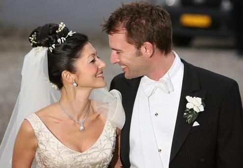 Alexandra du Danemark et Martin Joergensen