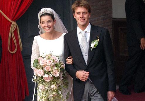 Clothilde Courau et Emmanuel de Savoie