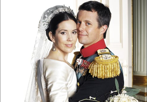 Mary et Frederik de Danemark