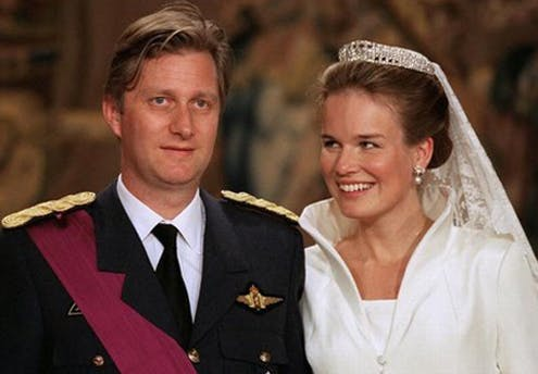 Mathilde et Philippe de Belgique