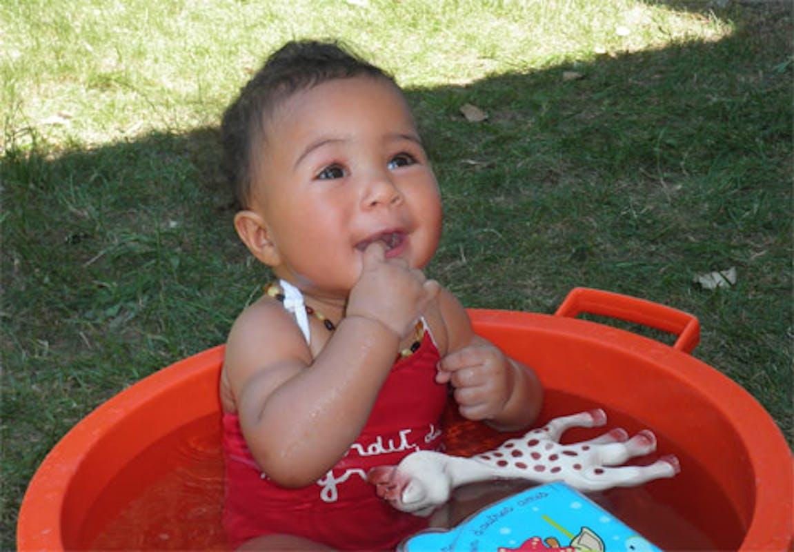 Alycia, 7 mois