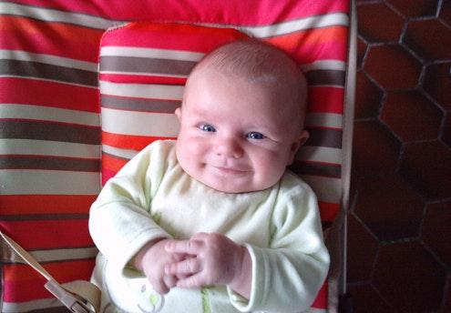 Aaron (2 mois)