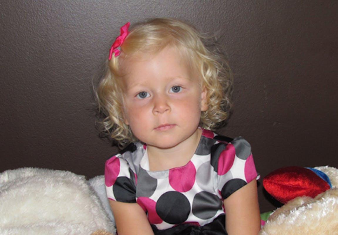 Rosalie (2 ans et demi)