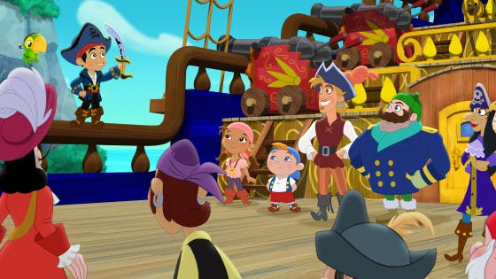 Capitaine Jake et les pirates