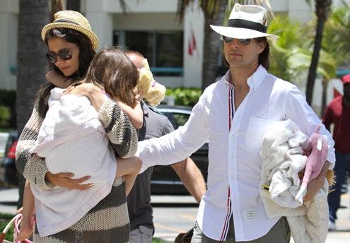 Suri, la fille de Tom Cruise et Katie Holmes