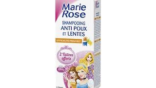 Le shampoing anti-poux et lentes des laboratoires       Marie-Rose