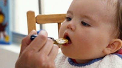 Un logo alimentation infantile