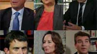 Les 6 candidats PS sur Elle.fr